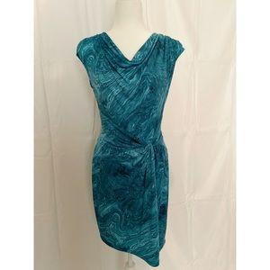 Michael Kors Illusion Wrap Dress